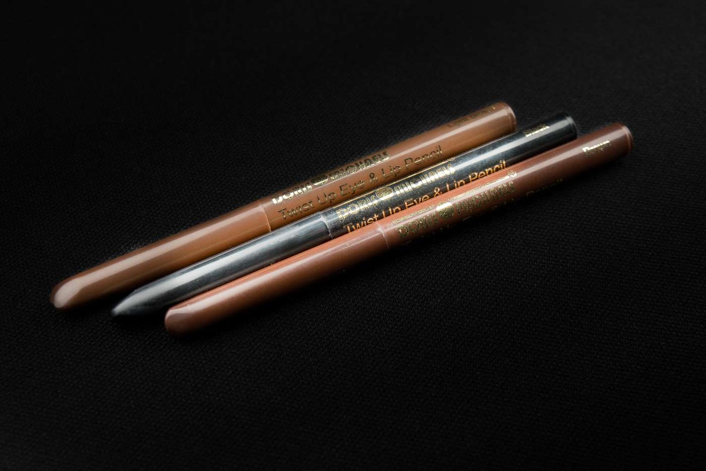 Doris Michaels twist eye & lip pencils